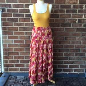 Colorful Forever 21 Maxi Skirt